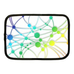 Network Connection Structure Knot Netbook Case (medium)  by Onesevenart