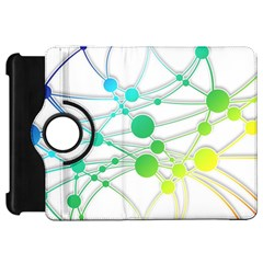 Network Connection Structure Knot Kindle Fire Hd 7  by Onesevenart