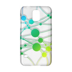 Network Connection Structure Knot Samsung Galaxy S5 Hardshell Case  by Onesevenart