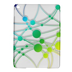 Network Connection Structure Knot Ipad Air 2 Hardshell Cases by Onesevenart