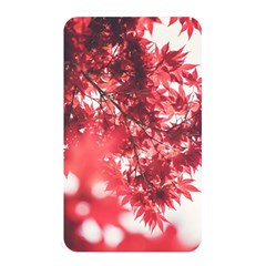 Maple Leaves Red Autumn Fall Memory Card Reader by Onesevenart