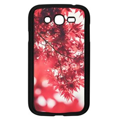 Maple Leaves Red Autumn Fall Samsung Galaxy Grand Duos I9082 Case (black) by Onesevenart
