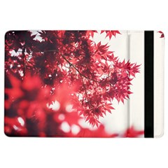 Maple Leaves Red Autumn Fall Ipad Air 2 Flip by Onesevenart
