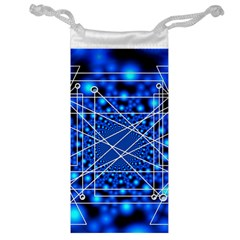 Network Connection Structure Knot Jewelry Bag by Onesevenart