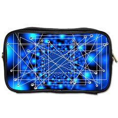 Network Connection Structure Knot Toiletries Bags by Onesevenart