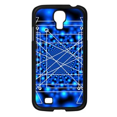 Network Connection Structure Knot Samsung Galaxy S4 I9500/ I9505 Case (black) by Onesevenart