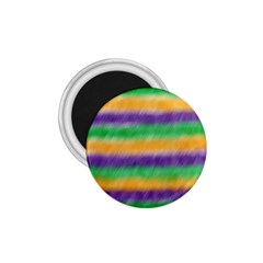 Mardi Gras Strip Tie Die 1 75  Magnets by PhotoNOLA