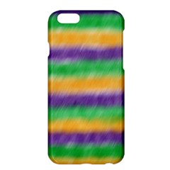 Mardi Gras Strip Tie Die Apple Iphone 6 Plus/6s Plus Hardshell Case by PhotoNOLA