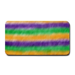 Mardi Gras Strip Tie Die Medium Bar Mats by PhotoNOLA