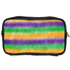 Mardi Gras Strip Tie Die Toiletries Bags 2 Side by PhotoNOLA