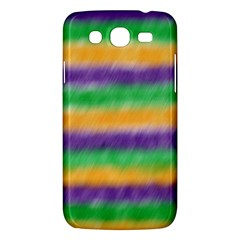 Mardi Gras Strip Tie Die Samsung Galaxy Mega 5 8 I9152 Hardshell Case  by PhotoNOLA