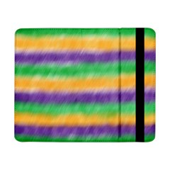 Mardi Gras Strip Tie Die Samsung Galaxy Tab Pro 8 4  Flip Case by PhotoNOLA