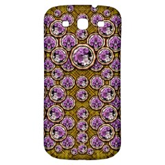 Gold Plates With Magic Flowers Raining Down Samsung Galaxy S3 S Iii Classic Hardshell Back Case by pepitasart