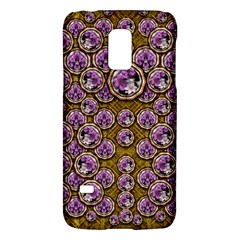 Gold Plates With Magic Flowers Raining Down Galaxy S5 Mini by pepitasart