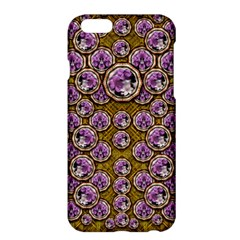 Gold Plates With Magic Flowers Raining Down Apple Iphone 6 Plus/6s Plus Hardshell Case by pepitasart