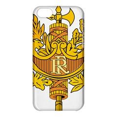 National Emblem Of France  Apple Iphone 5c Hardshell Case by abbeyz71