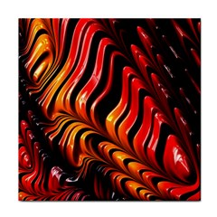 Fractal Mathematics Abstract Tile Coasters by Onesevenart