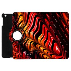 Fractal Mathematics Abstract Apple Ipad Mini Flip 360 Case by Onesevenart