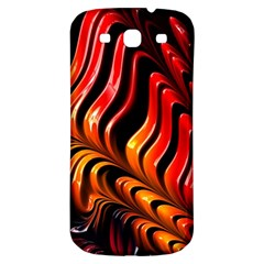 Fractal Mathematics Abstract Samsung Galaxy S3 S Iii Classic Hardshell Back Case by Onesevenart