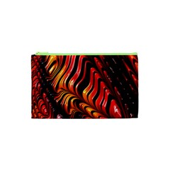 Fractal Mathematics Abstract Cosmetic Bag (xs) by Onesevenart