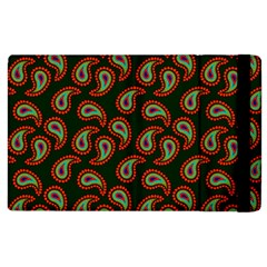 Pattern Abstract Paisley Swirls Apple Ipad 3/4 Flip Case by Onesevenart