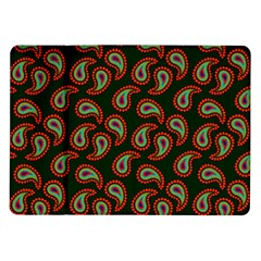 Pattern Abstract Paisley Swirls Samsung Galaxy Tab 10 1  P7500 Flip Case by Onesevenart