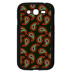 Pattern Abstract Paisley Swirls Samsung Galaxy Grand Duos I9082 Case (black) by Onesevenart