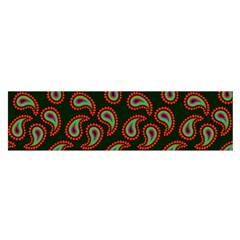 Pattern Abstract Paisley Swirls Satin Scarf (oblong) by Onesevenart