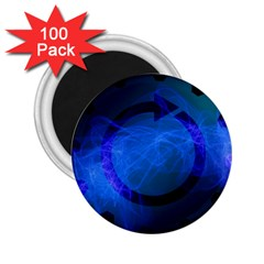 Particles Gear Circuit District 2 25  Magnets (100 Pack)  by Onesevenart