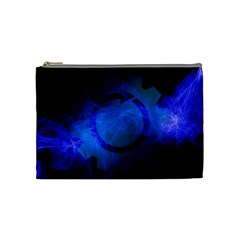 Particles Gear Circuit District Cosmetic Bag (medium)  by Onesevenart