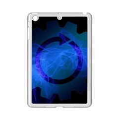 Particles Gear Circuit District Ipad Mini 2 Enamel Coated Cases by Onesevenart