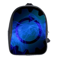 Particles Gear Circuit District School Bags (xl)  by Onesevenart