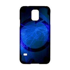 Particles Gear Circuit District Samsung Galaxy S5 Hardshell Case  by Onesevenart