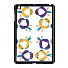 Pattern Circular Birds Apple Ipad Mini Case (black) by Onesevenart