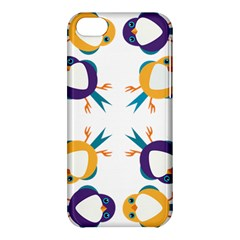Pattern Circular Birds Apple Iphone 5c Hardshell Case by Onesevenart