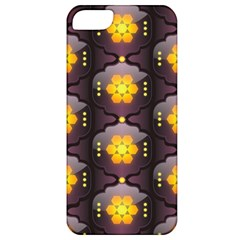 Pattern Background Yellow Bright Apple Iphone 5 Classic Hardshell Case by Onesevenart