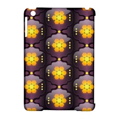 Pattern Background Yellow Bright Apple Ipad Mini Hardshell Case (compatible With Smart Cover) by Onesevenart