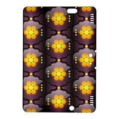 Pattern Background Yellow Bright Kindle Fire Hdx 8 9  Hardshell Case by Onesevenart