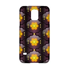 Pattern Background Yellow Bright Samsung Galaxy S5 Hardshell Case  by Onesevenart