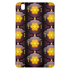 Pattern Background Yellow Bright Samsung Galaxy Tab Pro 8 4 Hardshell Case by Onesevenart