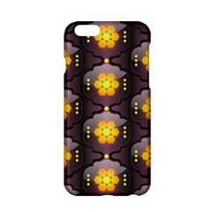 Pattern Background Yellow Bright Apple Iphone 6/6s Hardshell Case by Onesevenart