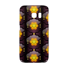 Pattern Background Yellow Bright Galaxy S6 Edge by Onesevenart
