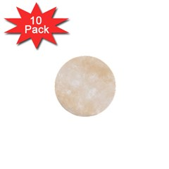 Pattern Background Beige Cream 1  Mini Buttons (10 Pack)  by Onesevenart