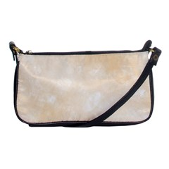 Pattern Background Beige Cream Shoulder Clutch Bags by Onesevenart
