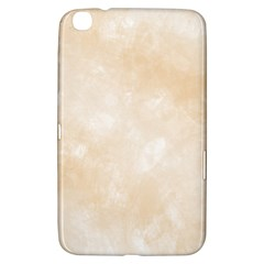 Pattern Background Beige Cream Samsung Galaxy Tab 3 (8 ) T3100 Hardshell Case  by Onesevenart