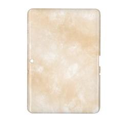 Pattern Background Beige Cream Samsung Galaxy Tab 2 (10 1 ) P5100 Hardshell Case  by Onesevenart