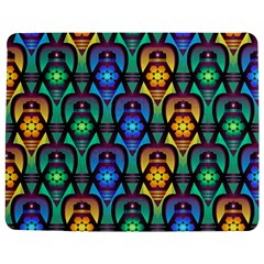 Pattern Background Bright Blue Jigsaw Puzzle Photo Stand (rectangular) by Onesevenart