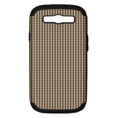 Pattern Background Stripes Karos Samsung Galaxy S Iii Hardshell Case (pc+silicone) by Onesevenart