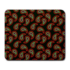 Pattern Abstract Paisley Swirls Large Mousepads by Onesevenart