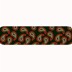 Pattern Abstract Paisley Swirls Large Bar Mats by Onesevenart